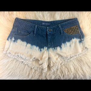 GUESS Cutoff Denim Shorts